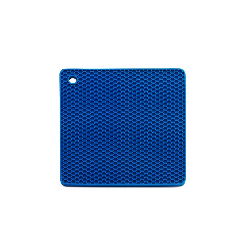Topflappen Quadrat – Blau