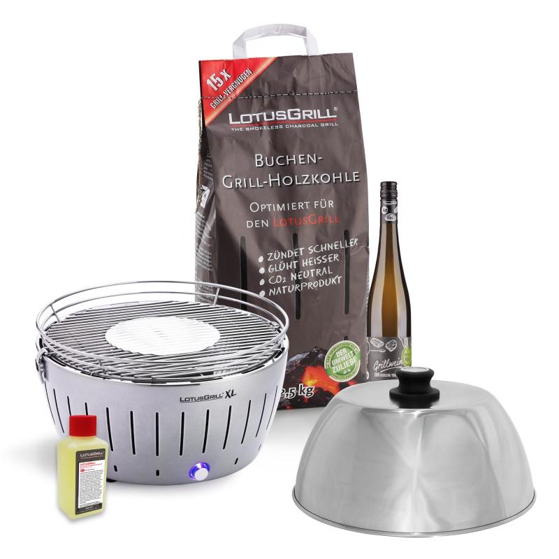 Picknick-Set – XL – Silber