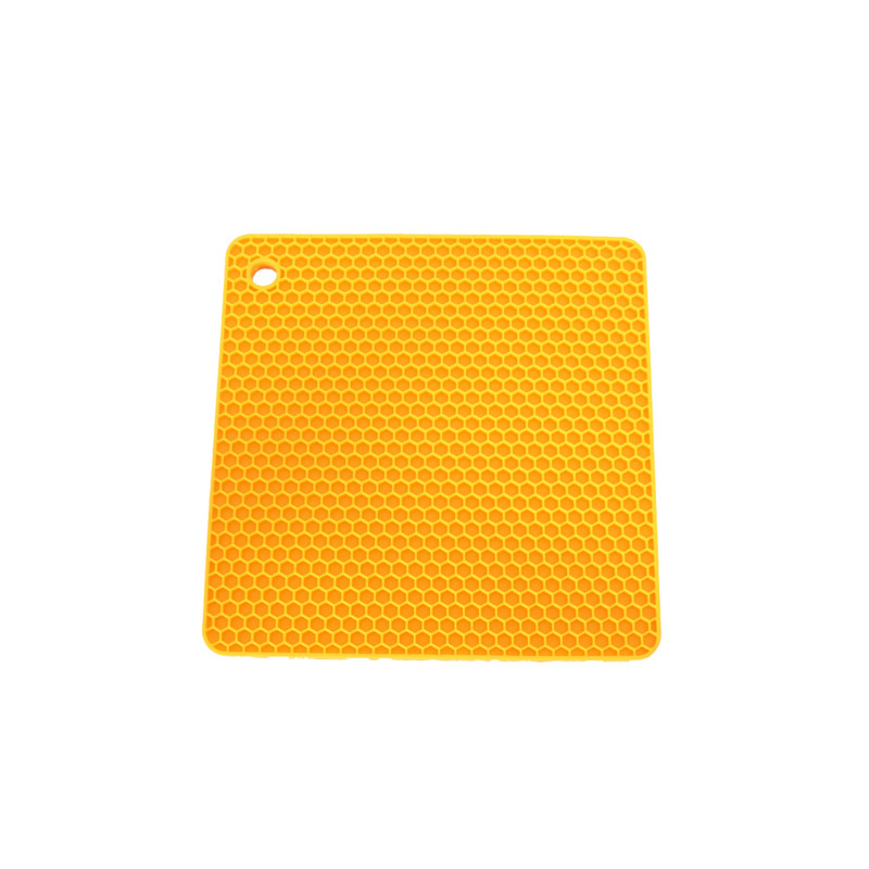 Topflappen Quadrat – Maisgelb
