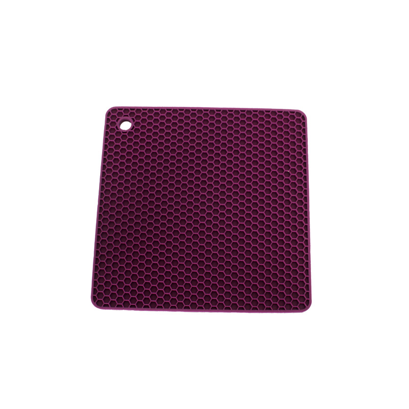 Topflappen Quadrat – Pflaumenlila